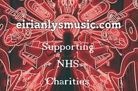 In Support of NHS Charity -10 Royalty free themed CD Albums of Different Genres