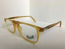 New Persol 3059-V 204 Polished Honey 50mm Eyeglasses Frame Italy