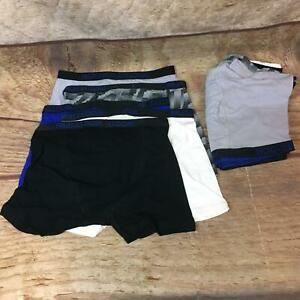 Fruit of the Loom Boys Size XL Breathable Cotton Boxer Briefs Underwear 10 Pack