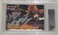 Chyna & Billy Gunn Signed 2001 Fleer Wwf Raw is War Card #64 Bas Beckett Coa Wwe
