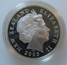 2003 New Zealand Lord Of The Rings .925 Sterling Silver Collector Coin