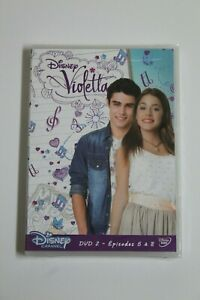 Violetta Series Disney DVD2 Episodes 5 To 8. Language Francés. New IN Blister