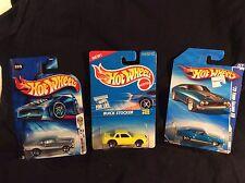 3 Hot Wheels: '04 1st edition '68 Nova - '95 Buick Stocker- '73 Ford Falcon XB
