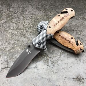 BROWNING X50 Camping Tactical Hunting Knives Folding Blade Pocket Knife AU Stock