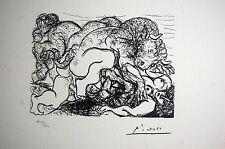 PABLO PICASSO - SUITE VOLLARD - Ed. SPADEM 1973. Firmada y numerada.