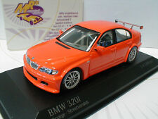 "Minichamps 400052400 # BMW 320i E46/4 Streetversion Bj. 2005 "" orange "" 1:43 NEU"