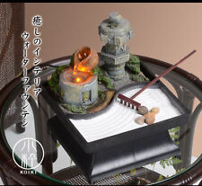 Japanese Style Tabletop Fountain Japanese Garden Style With Led Light Japan