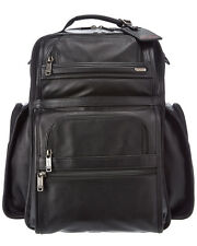 Tumi Alpha T-PASS Business Class Leather Backpack Laptop bag Brand New Wrapped