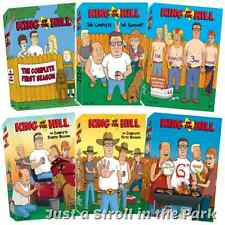 King of the Hill: TV Series Complete Seasons 1 2 3 4 5 6 Box / DVD Set(s) NEW!