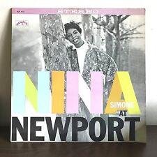 Nina At Newport Nina Simone 1960 Vinyl Colpix Records Jazz 1st Press Soul