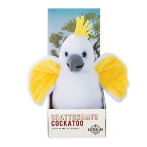 IS Gift Australian Souvenir ChatterMate Cockatoo  - Copies Everything You Say