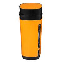 USB Coffee Cup Rechargeable Heating Self Stirring Mixing Mug Warmer Coffee