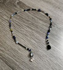 Beaded Bookmark Charm Butterfly Page Holder Chain