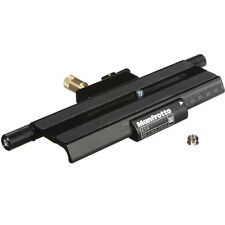 Manfrotto 454 Micrometric Positioning Sliding Plate. No Fees! EU Seller! NEW!