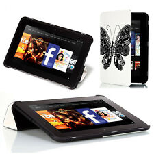 Poetic CoverMATE【Lightweight】Slim Cover Case For Kindle Fire HD 8.9 Butterfly