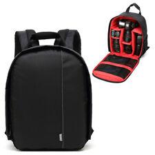 Waterproof DSLR SLR Camera Bag Padded Insert Backpack Carry Case for Canon Nikon