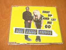 THE TING THINGS - SHUT UP AND LET ME GO CD SINGLE - AUSTRALIA * LIKE NEW *