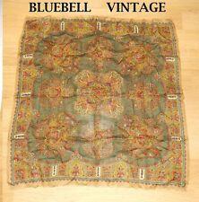 Paisley 100% Wool Vintage Scarves & Shawls