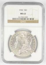 MS63 1902 Morgan Silver Dollar - Graded NGC *2987