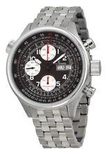 Revue Thommen Pilot Automatic Chronograph SS Black Dial Men's Watch 17061.6632