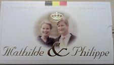 Belgium 250 francs 1999 QP dans blister Mathilde et Philippe