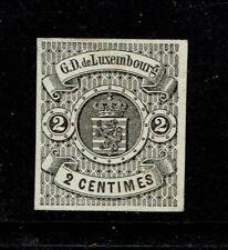 Luxembourg SC# 5, Mint Part Original Gum (40%), Hinge Remnant - S4035