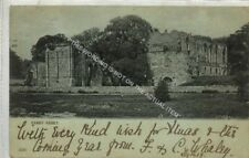 (Le2227-477) Easby Abbey, Nr Richmond 1903 Used G-VG Undivided Back