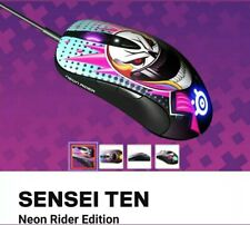 SteelSeries -Sensei Ten Wired Neon Rider LTD EDT Optical Gaming Mouse fastship