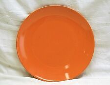 """Classic Royal Norfolk 10-5/8"""" Orange Dinner Plate Microwave Dishwasher Safe"""