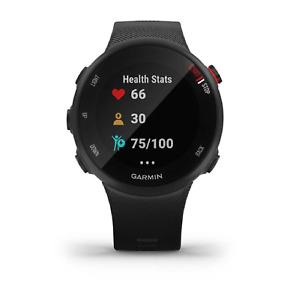 Garmin Forerunner 45S Orologio GPS Nero Per Corsa Allenamenti Smartwatch Coach