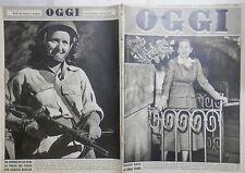OGGI Giugno 1948 Edda Ciano Gestapo Savoia Malraux Hepburn Haganah Ebraismo di e