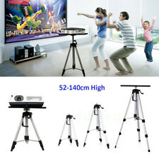 "Adjustable Metal Tripod Stand 20-55"" High Heavy Duty Laptop Projector Projection"