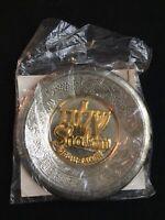 Vintage Jerusalem Shalom Souvenir Plate