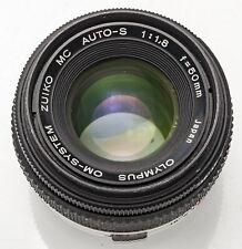 Olympus MC OM-System Zuiko Auto-S Auto S 50mm 50 mm 1:1.8 1.8 - DEFEKT