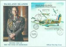 84702 - FALKLAND - Postal History -  S/S on FDC COVER 19791 Aviation ROYALTY