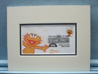 Jim Henson's Muppets & Sesame Street & First Day Cover of the Zoe stamp