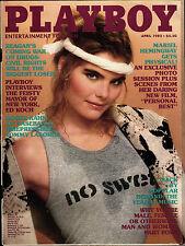"PLAYBOY US 4/1982 April - Mariel Hemingway ""Personal Best"" + Tommy Lasorda"