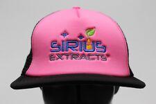 SIRIO extractos - Rosa y negro - Camionero Estilo SNAPBACK AJUSTABLE gorra