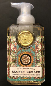 Michel Design Works SHEA BUTTER FOAMING HAND SOAP Secret Garden 17.8 Ounces