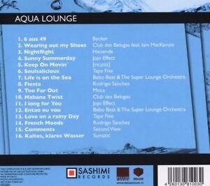 Aqua Lounge by Deluxe Music ( Downtempo, Lounge)u.a Tape Five, Moca, Sumatic NEU