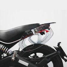 Gepäckträger Seitentaschen Acrylglas RAUCHGRAU Ducati SCRAMBLER