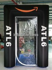 9ft Inflatable Cash Cube Money Machine w/blowers Advertising Promotion Your Logo