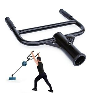 Home Gym Fitness Barbell Weightlifting Attachment 50MM Barbell Bar Squat Handle