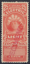 Canada 1897 25c Light Inspection SPECIMEN, Van dam FE9var, VF MNH - VERY RARE!!
