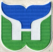 1980 HARTFORD WHALERS ~ Willabee & Ward NHL THROWBACK HOCKEY PATCH ~ Patch Only