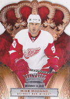 10-11 Crown Royale Mike Modano /100 Premiere Date Red Wings 2010