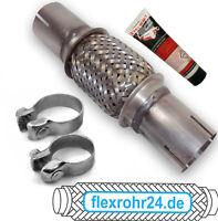 Premium Flexrohr 45x100/215mm ohne schweißen inkl Schellen + Montagepaste