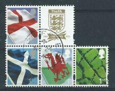 Sellos de Europa con 4 sellos usado