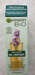 Garnier Bio-Lavendel straffendes Gesichts - Öl 30 ml Glow NEU