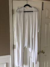 Lululemon Wrap Draped Cardigan Sweater  White Size OS Tencel Blend